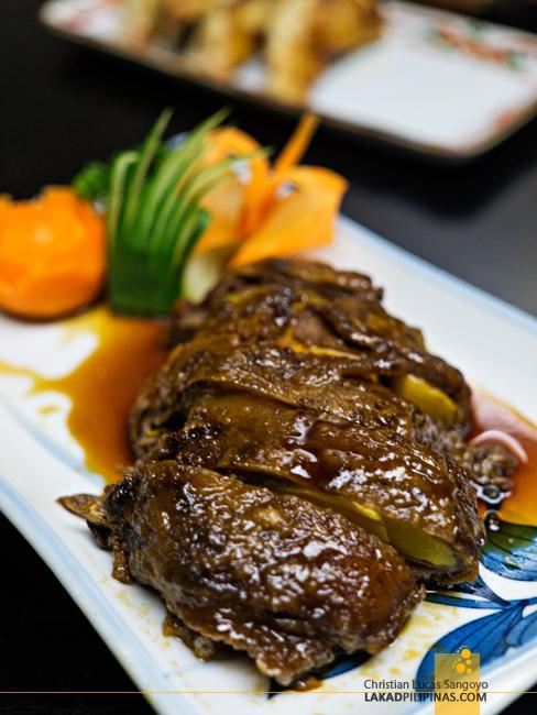 Hatsu Hana-Tei Makati Mango Gyu Maki