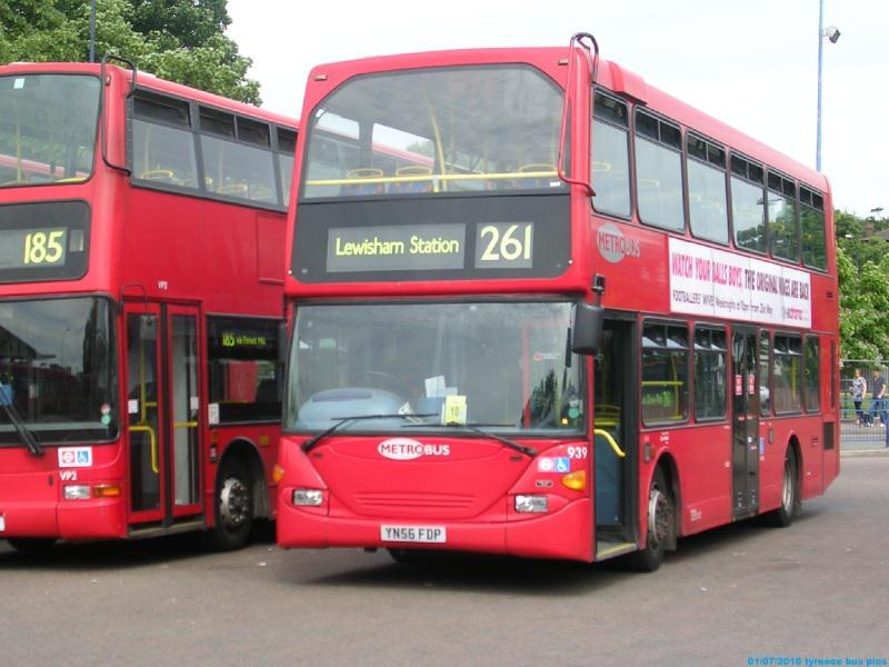 The London Bus Team Buses In Lewisham Station