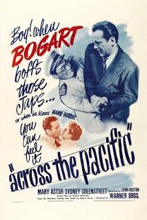 A través del pacífico (1942) Accion con Humphrey Bogart