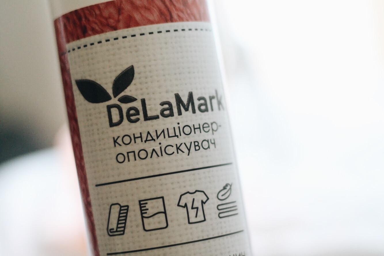 Ekologiczne środki czystości - płyn do płukania DeLaMark