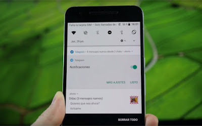 Android Oreo controla notificaciones