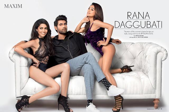 Rana Daggubati Maxim Photoshoot