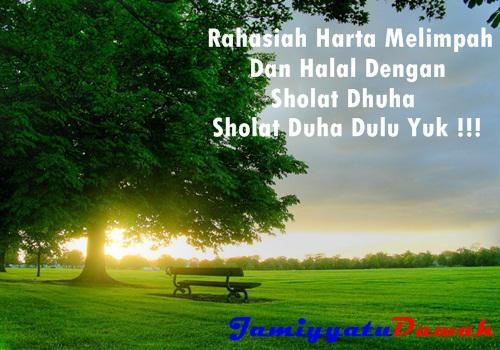Bacaan Niat Doa Dan Tata Cara Sholat Dhuha