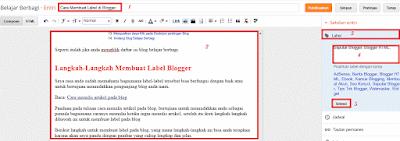 Membuat Label Artikel pada Blog