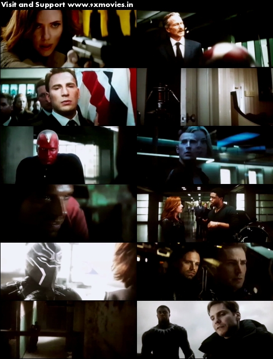 Captain America Civil War 2016 Hindi Dubbed x264 HDCAM 800MB
