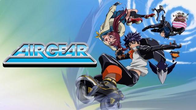 Air Gear - Daftar Anime Sport terbaik Sepanjang Masa