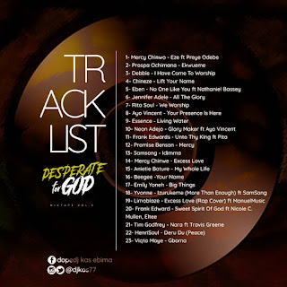 Mixtape: Dj Kas – Desperate For God Vol. 3