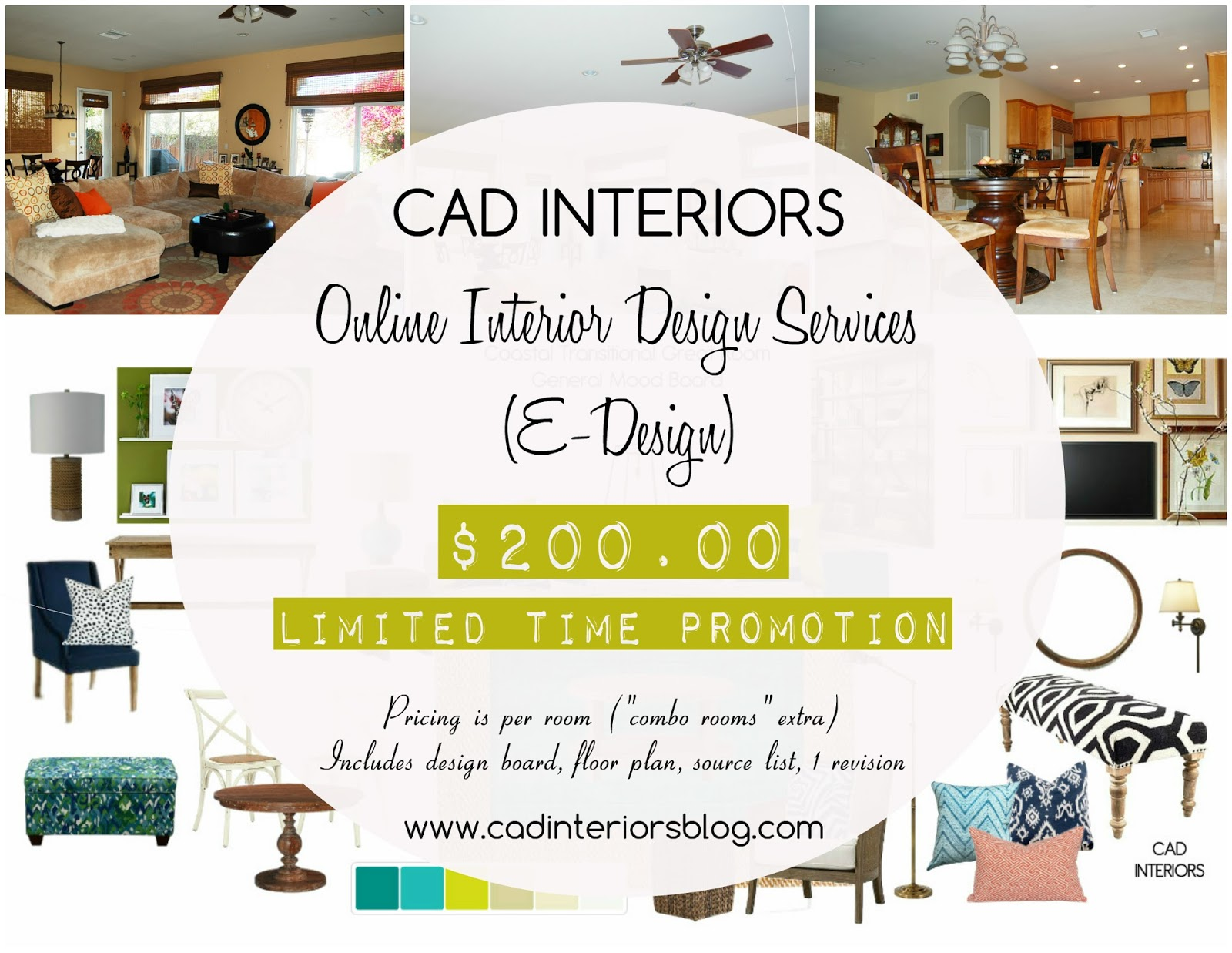 online e-design interior design services special pricing offer promo