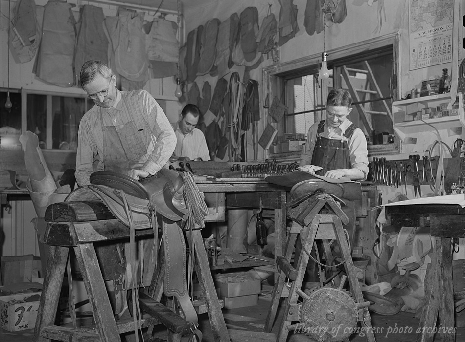 Saddle makers. Capriola Saddlery, Elko, Nevada