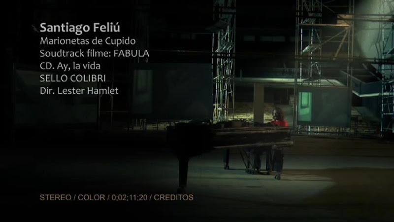 Santiago Feliú - ¨Marionetas de Cupido¨ - Videoclip - Dirección: Lester Hamlet. Portal Del Vídeo Clip Cubano