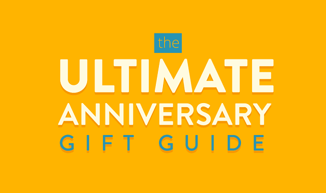the ultimate anniversary gift guide infographic visualistan