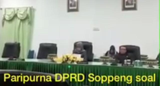 [VIDEO] DPRD Soppeng Paripurnakan Pemberhentian Wakil Bupati Soppeng