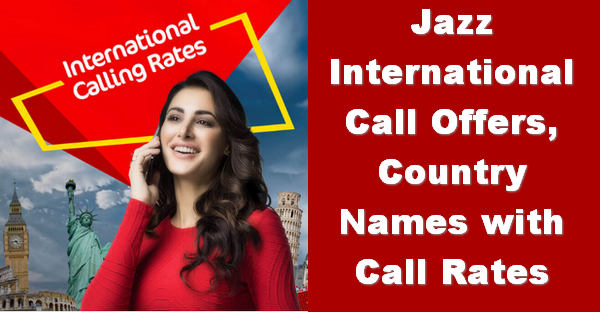 Jazz international call rates