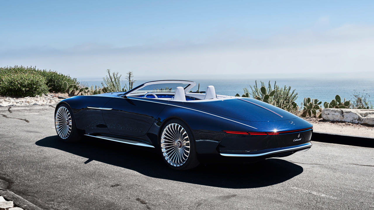 Lifestyle And Luxury Mercedes Maybach 6 Cabriolet