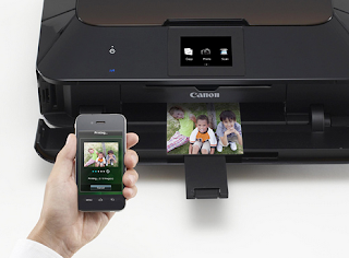 Canon PIXMA MG6350 Driver-The Canon MG6350 is a multifunction PRINTER that supplies color inkjet printing on paper as well as disc (CD, DVD, Blu-ray) through USB, Wi-Fi