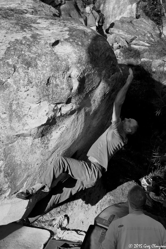 Tony Fouchereau s'offre une extraction divine au 95.2, 7C+, (C) Greg Clouzeau