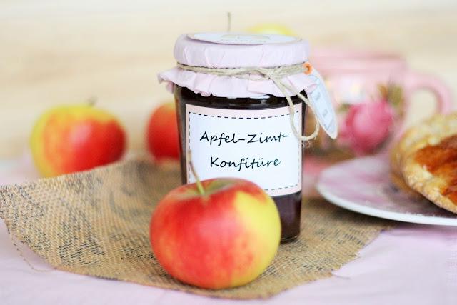 Geschenk aus der Küche: Apfel-Zimt-Marmelade