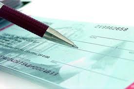 #Cheque