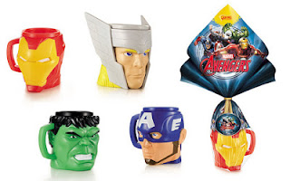 Ovo de Páscoa Avengers