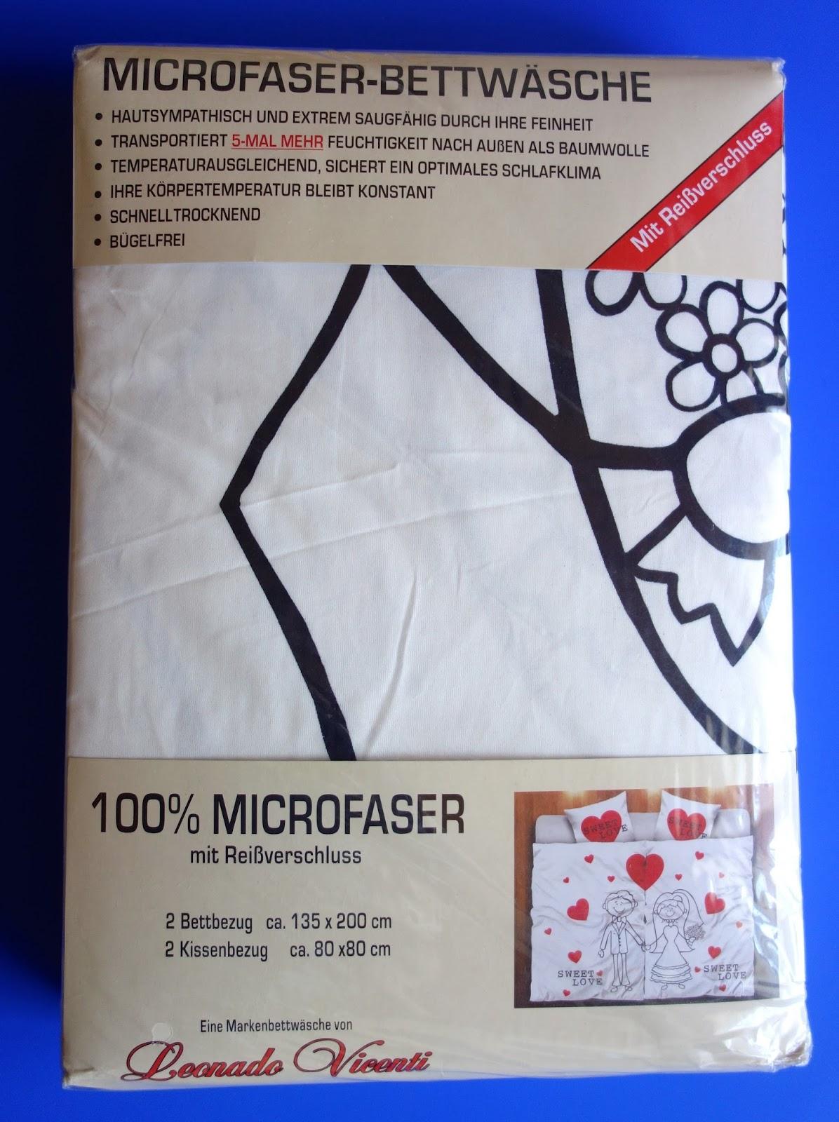 produkttestseite von heike produkttest 4 tlg partner bettw sche 135 x 200 cm microfaser. Black Bedroom Furniture Sets. Home Design Ideas
