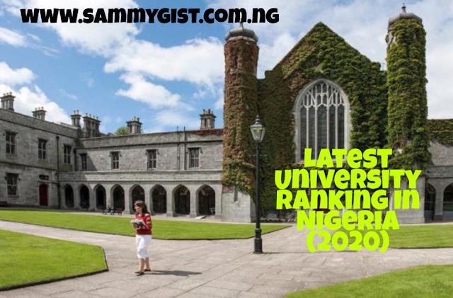 Latest University ranking in Nigeria
