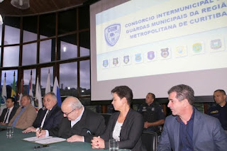 Curitiba e mais nove municípios integram as guardas municipais