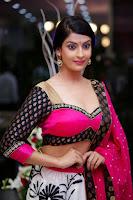 Akanksha Hot Photo Shoot In Pink Half Saree HeyAndhra