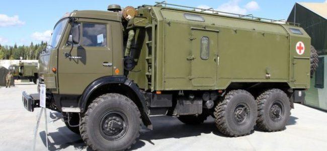 Російський «травмпункт на колесах» у Ясинуватій