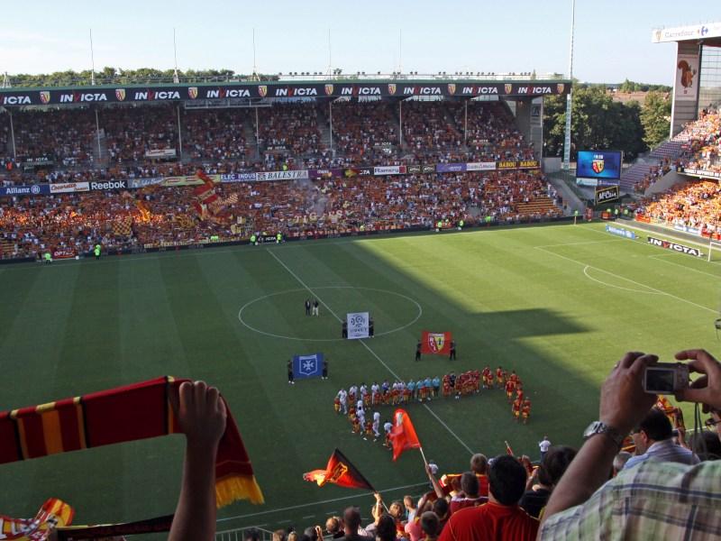 Stadion Stade Bollaert-Delelis Lens Perancis