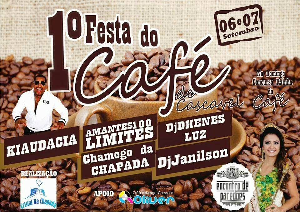 1º Festa do Café em Cascavel Ibicoara BA