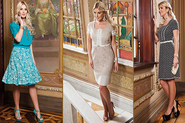 Saia bela, Mulheres bem vestidas - foto divulgação