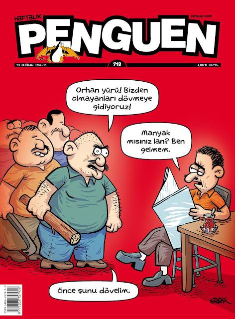 Penguen Dergisi - 23 Haziran 2016 Kapak Karikatürü