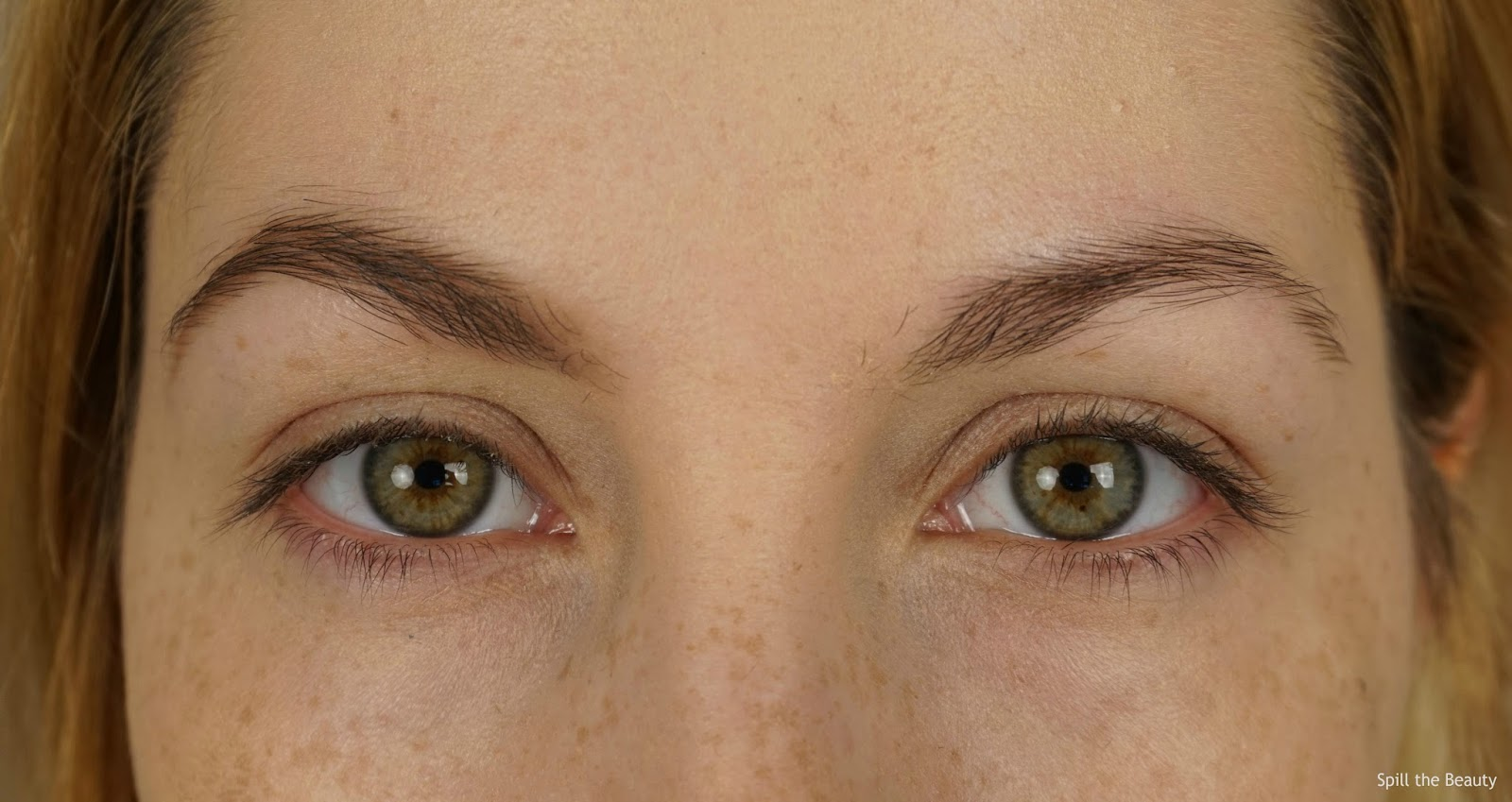 brows before and after dior blonde