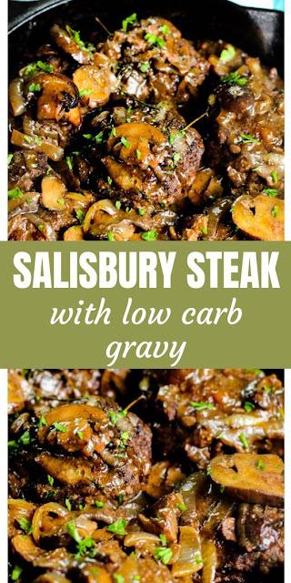 Easy Salisbury Steak Recipe with Gravy