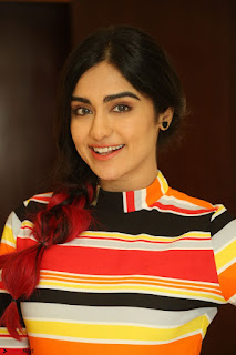 Adha Sharma in a Cute Colorful Jumpsuit Styled By Manasi Aggarwal Promoting movie Commando 2 (120).JPG