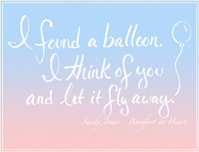 Quote from Barefoot at Heart by Sandy Jones