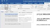 Come spostare o riordinare pagine e testo in Word