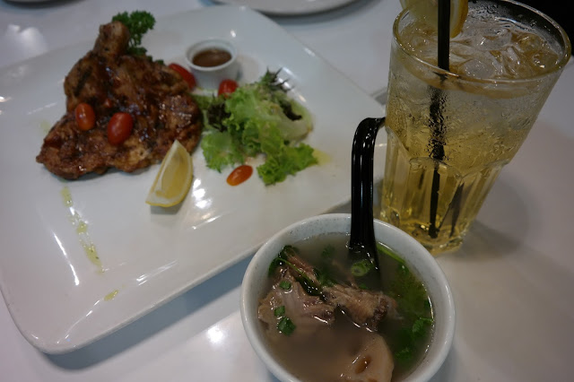 set lunch at u-cafe, u-cafe sungei wang plaza,