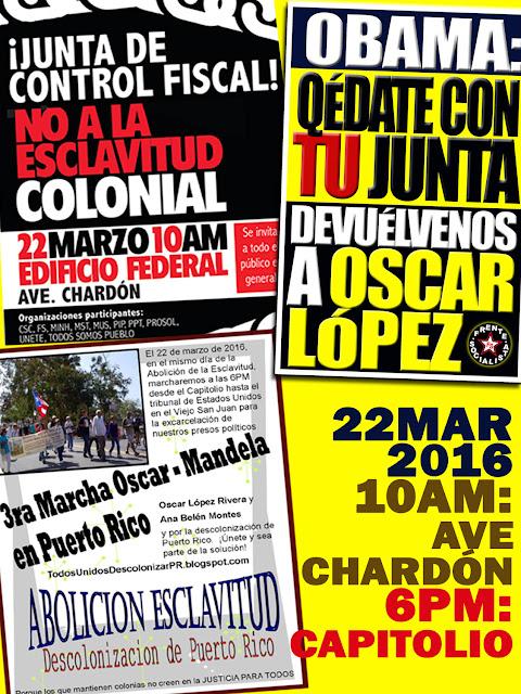 Frente socialista de puerto rico for Campamento jardin botanico caguas