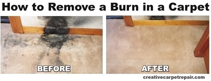 DIY Tips To Treat Cigarette Burn in Carpet