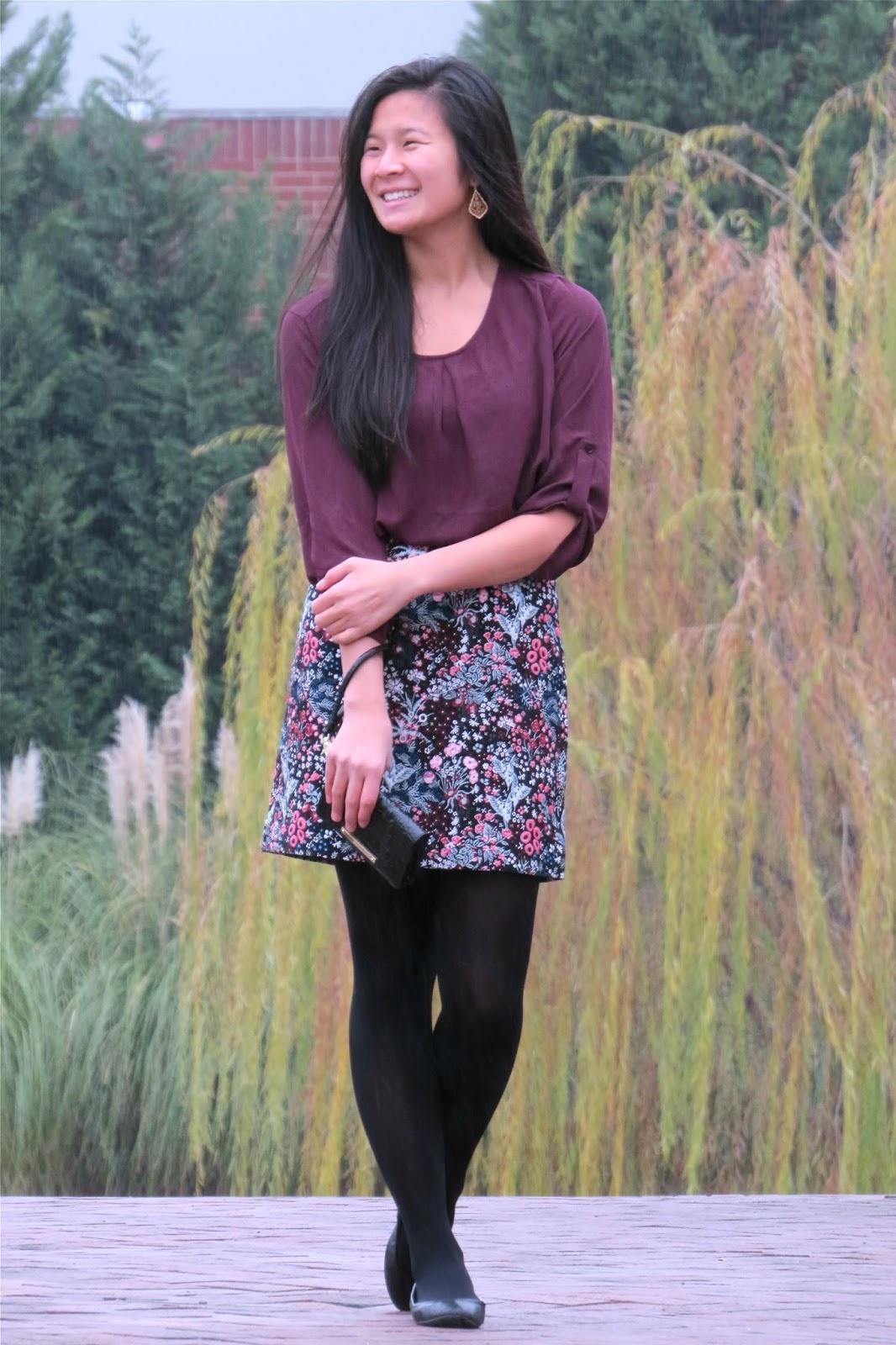 Floral_printed_skirt