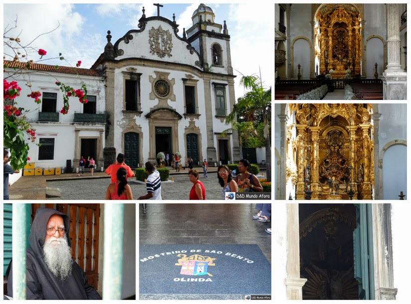 Igreja e o Mosteiro de São Bento - Olinda Pernambuco