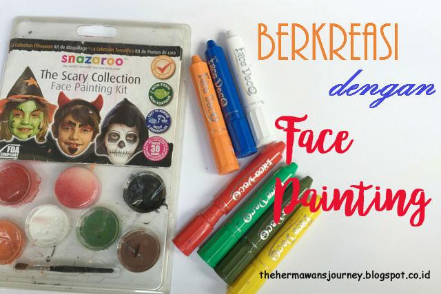 Face Painting, Lukis Wajah, Kreasi Warna untuk Anak, Snazaroo, Face Deco