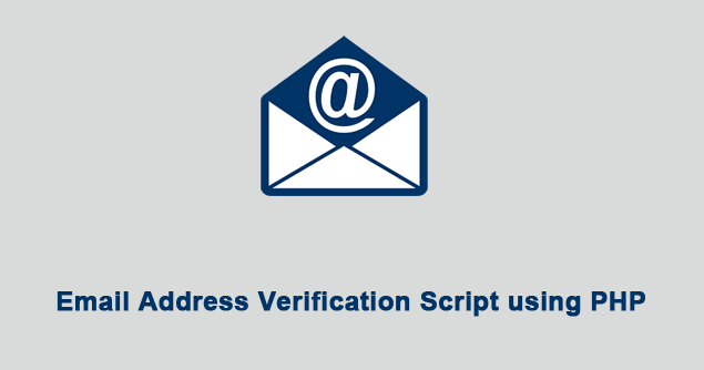 php registration script with email confirmation webslesson - Verify Email Address Php