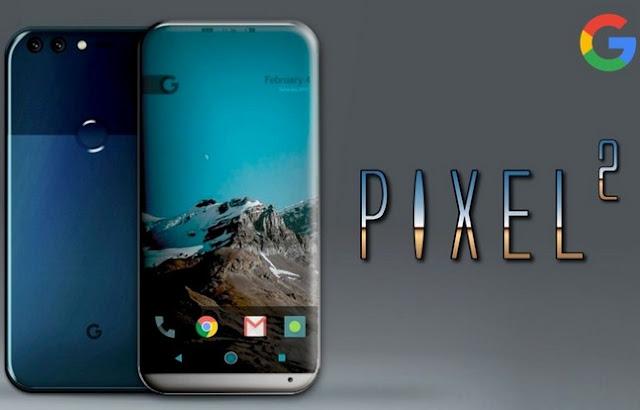 Ponsel Pintar Berlayar Melengkung Pixel 2