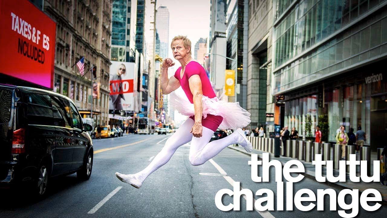 Jordan Matter´s Outrageous TUTU CHALLENGE with Kamri Noel & Dance Moms Stars