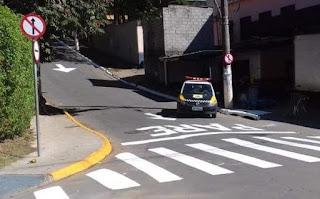 Importante rua de Caucaia do Alto se tornou mão única