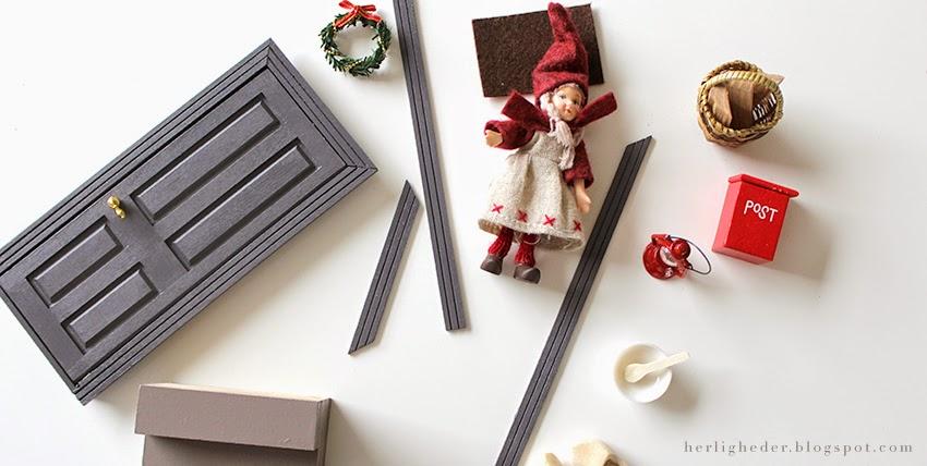 Fantastisk Juleforberedelser i september / Nissedør | Sirlig FJ67