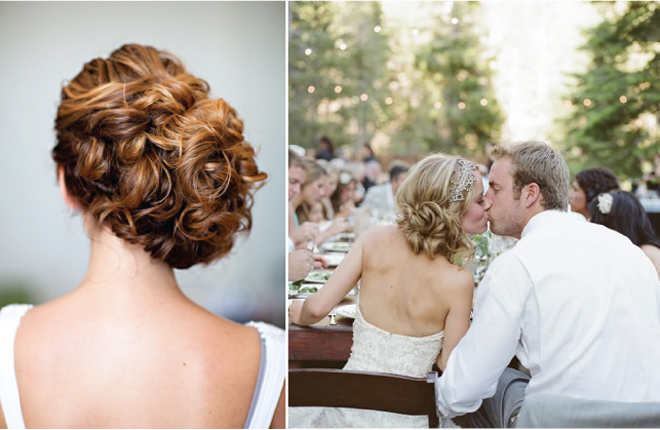 Wedding Hairstyles For Short Hair 2012: {Wedding Hairstyles} : Updo