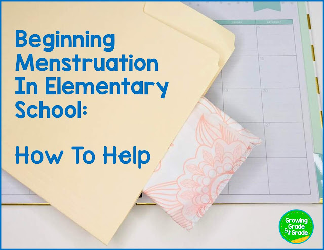 Beginning Menstruation In Elementary School: How To Help